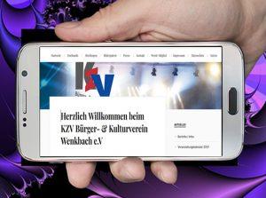 KZV auf dem Handy